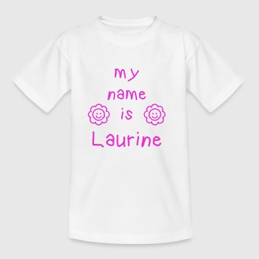 Laurine LAURINE MY NAME IS - T-shirt Enfant