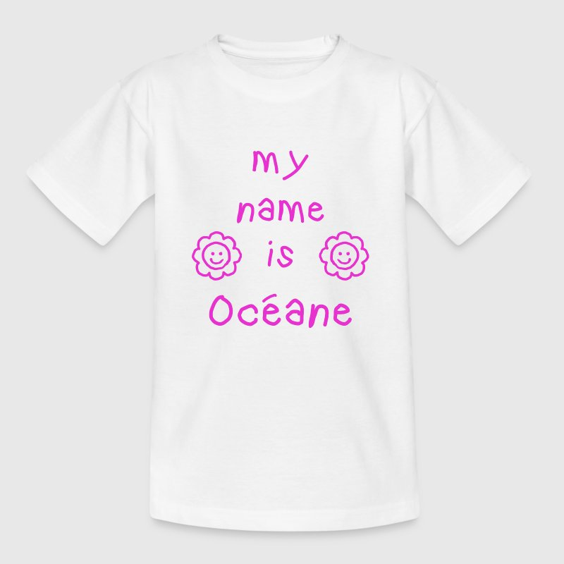 OCEANE MY NAME IS - T-shirt Enfant