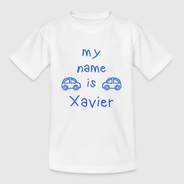 XAVIER MY NAME IS - T-skjorte for barn