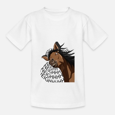 Black Forest Horse on the horse farm - Kids' T-Shirt