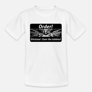 Order! Division! Clear the lobbies UK - Kids' T-Shirt