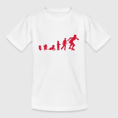evolution roller derby femme3 bebe foetu - T-shirt Enfant