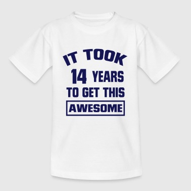 IT HAS TAKEN 14 YEARS TO SO BLATANTLY TO BE! - Kids' T-Shirt