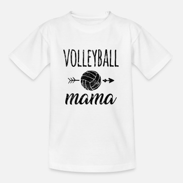 Volley Volleyball mom - Kids' T-Shirt