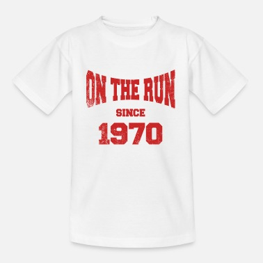 1970 On the Run since 70tees - Kids' T-Shirt