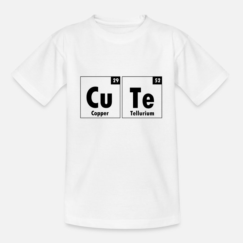 Cute T-Shirts - The Element Of Cute - Kids' T-Shirt white
