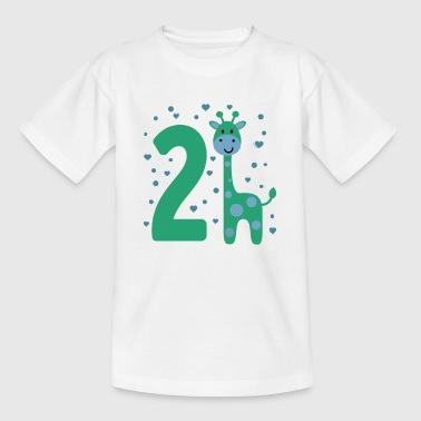 Number Two 2nd Second Birthday Boy Son Sweet Gift - Kids' T-Shirt