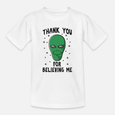 Spaceman Thank you for believing me - Kinder T-Shirt