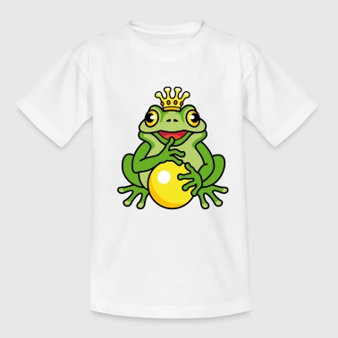 frog king (e) - Kids' T-Shirt