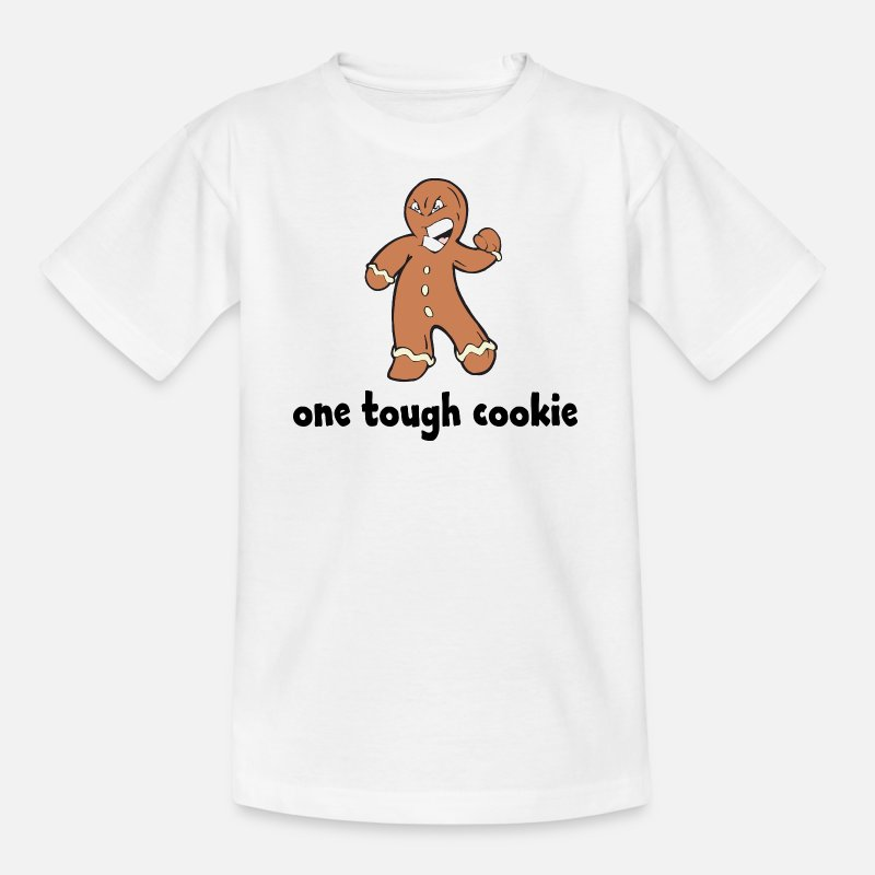 Small T-Shirts - One Tough Cookie - Kids' T-Shirt white