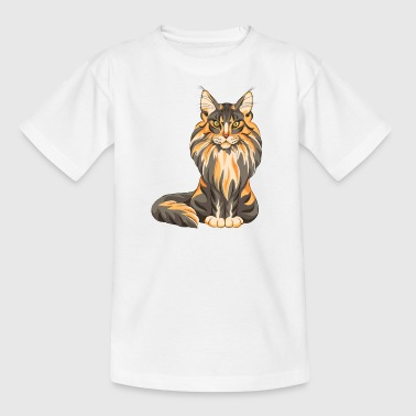 Maine Coon - Kinder T-Shirt