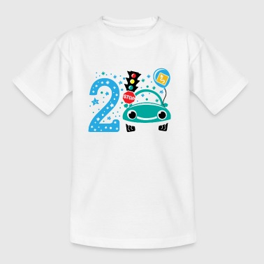 second birthday 2nd birthday two years old - Kids' T-Shirt