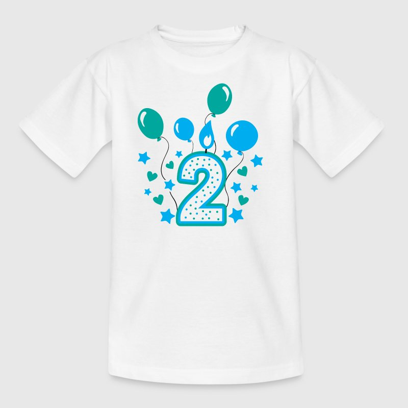 Second birthday boy, 2nd birthday gift - Kids' T-Shirt
