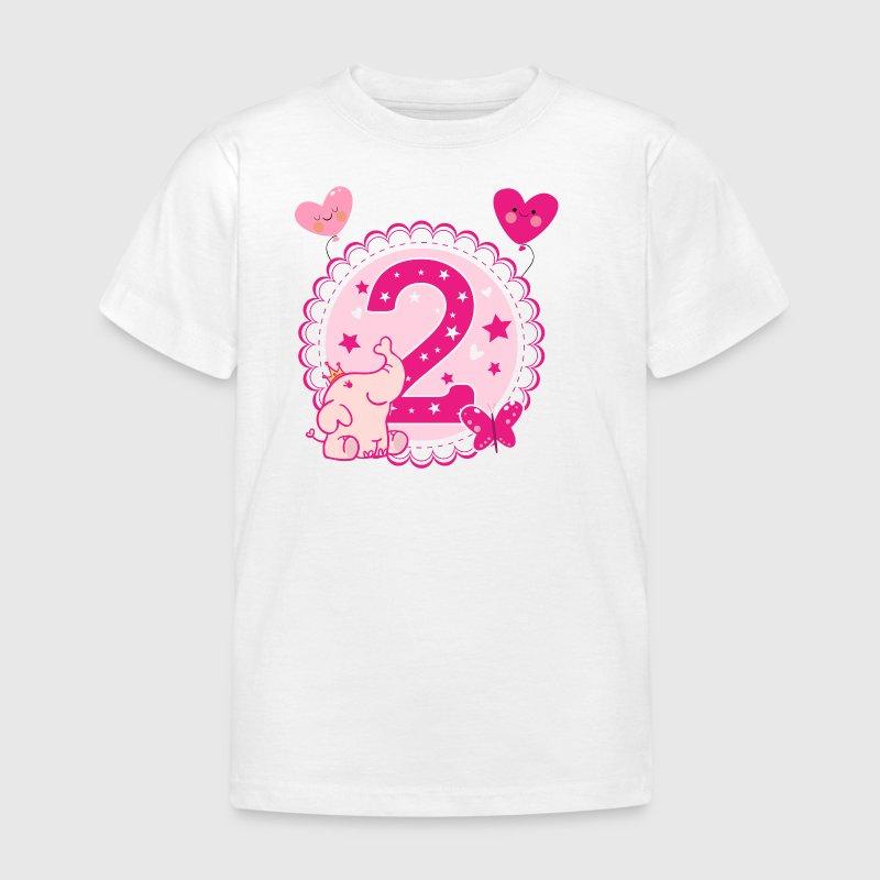 zweiter geburtstag 2 geburtstag zwei jahre m dchen t shirt spreadshirt. Black Bedroom Furniture Sets. Home Design Ideas
