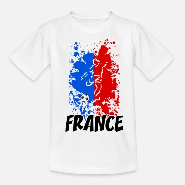 Tricolore French Football tricolore - T-shirt Enfant