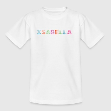 Isabella Letter Name - Kids' T-Shirt