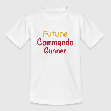 Future Commando Gunner - T-shirt Enfant