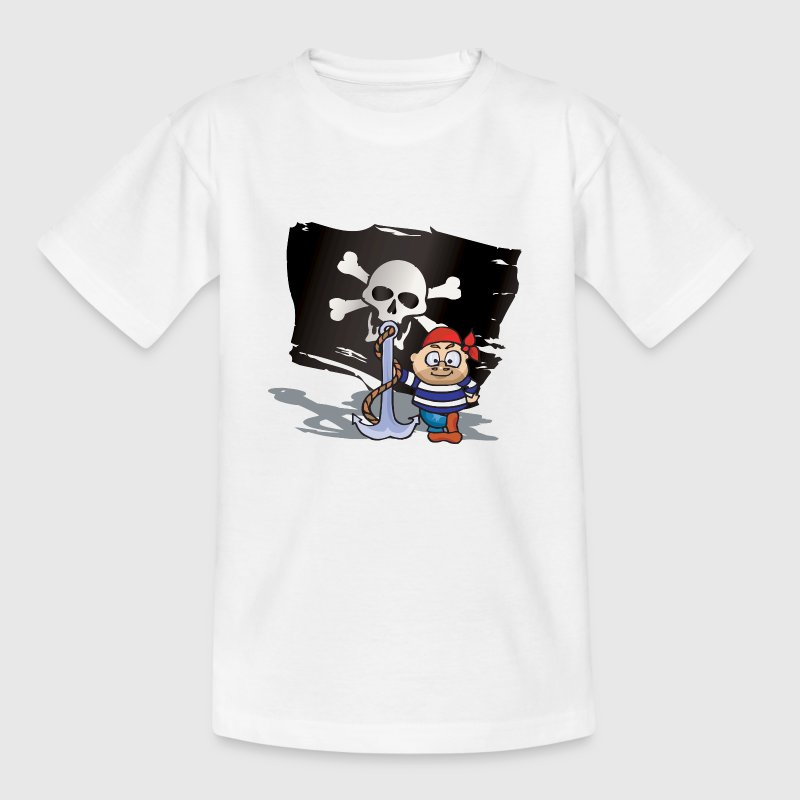 Jungen-Piraten - Kinder T-Shirt