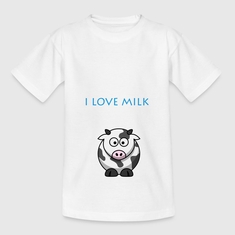 I LOVE MILK BOY - Kids' T-Shirt
