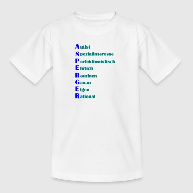 Asperger Syndrom Shirt - Kinder T-Shirt