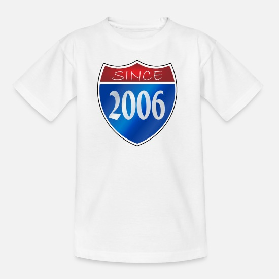 2006 T-Shirts - Since 2006 - Kids' T-Shirt white