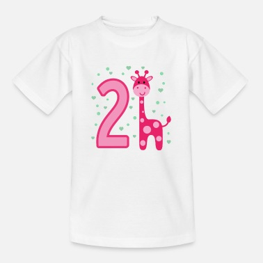 Goddaughter second birthday 2nd birthday two years girl - Kids' T-Shirt