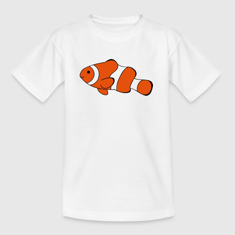 Clown Fish Drawing - Kids' T-Shirt