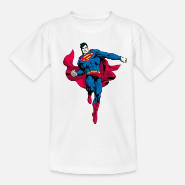 Superman Pose Teenager T-Shirt - Kinderen T-shirt
