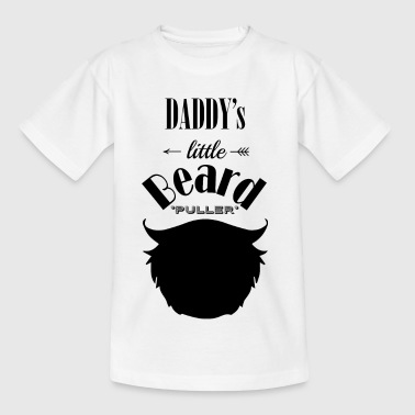 little beard puller - Kinderen T-shirt
