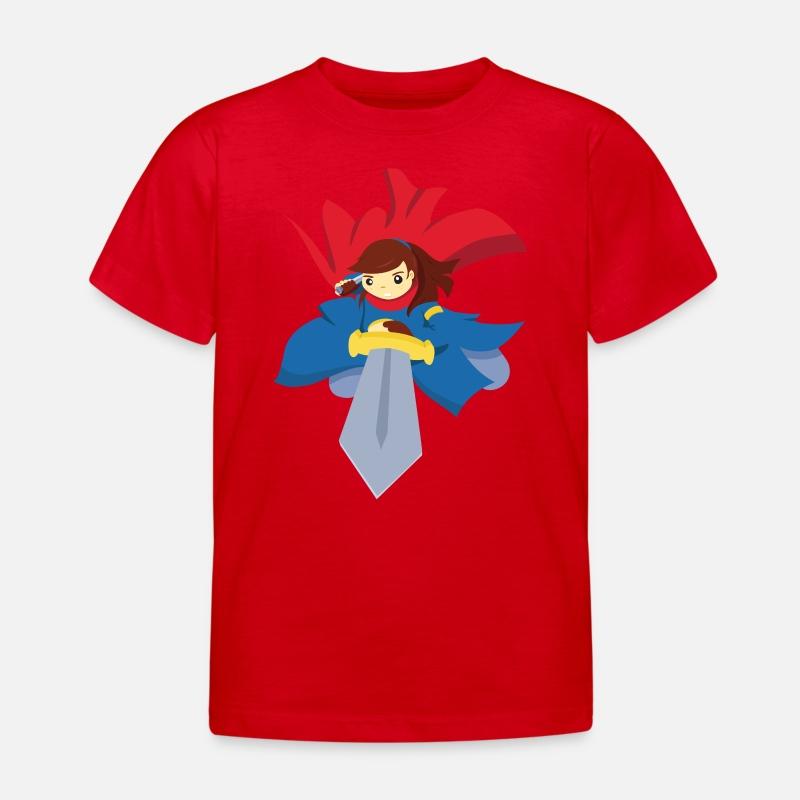 Fighting med sverd T skjorte barn | Spreadshirt