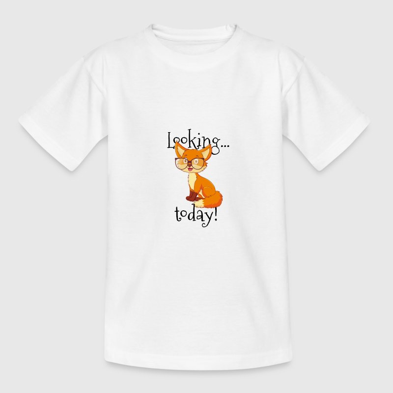 Looking (foxy) today shirt - Kids' T-Shirt