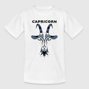 Zodiac Signs - Capricorn - Kinder T-Shirt