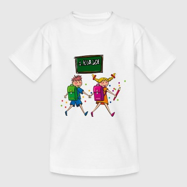 Back to school School 1 class kids shirt - Kids' T-Shirt