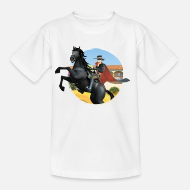 Zorro The Chronicles Riding Horse Tornado - Kids' T-Shirt