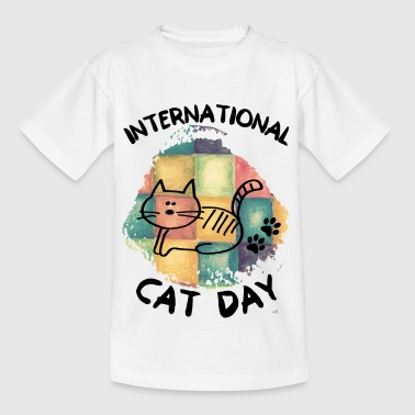 Kant Cat Day - Kids' T-Shirt