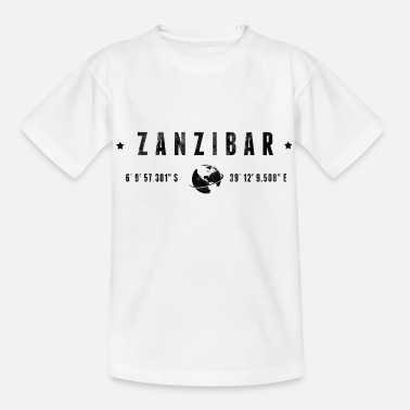 Planet Zanzibar - Kinder T-Shirt