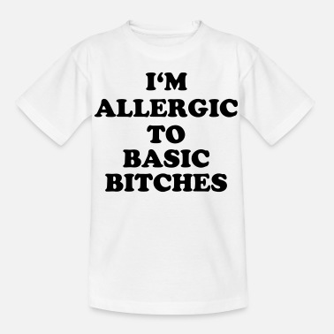 Bitch Luder Allergisch Standard Geschenk Bitch Hure Luder - Kinder T-Shirt