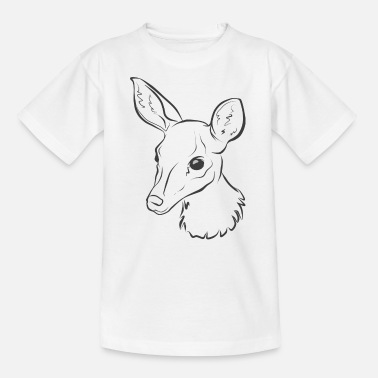 Deer Baby Rehkitz Deer baby shower - Kids' T-Shirt