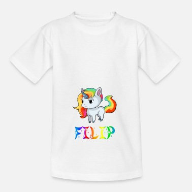 Filip Unicorn Filip - Kids' T-Shirt