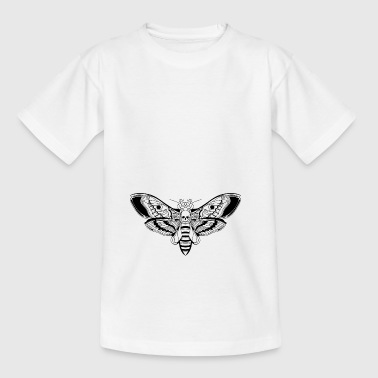 Death-Head-Moth / Tattoo Style - Kinder T-Shirt