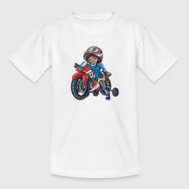 Little baby biker 2 - Kids' T-Shirt