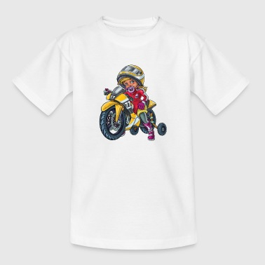 Little baby biker 1 - Kids' T-Shirt