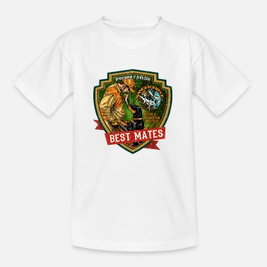 Jäger best mates - Kinder T-Shirt