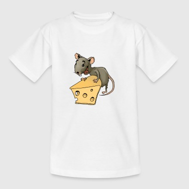 Fiese mouse rodent mouse vermin rodent cheese - Kids' T-Shirt