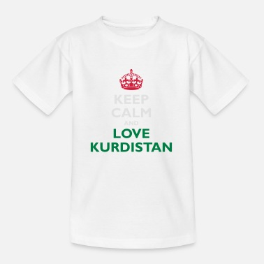 I Love Keep Calm&Love Kurdistan - T-shirt barn