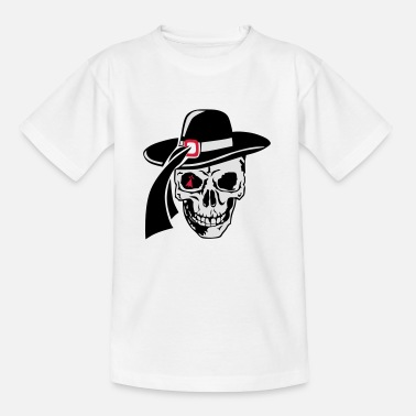 breizh pirate designer skull skull leader10 - Kids' T-Shirt