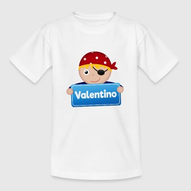 Little Pirate Valentino - Kids' T-Shirt