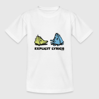 Explicit Lyrics - Kids' T-Shirt