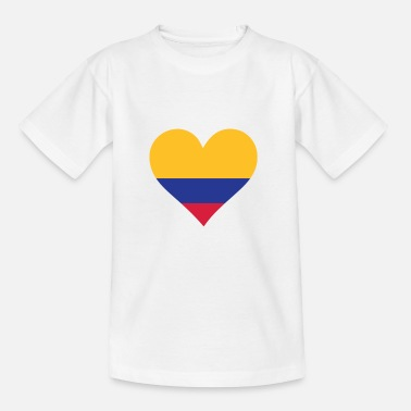 Colombia A Heart for Colombia - Kids' T-Shirt