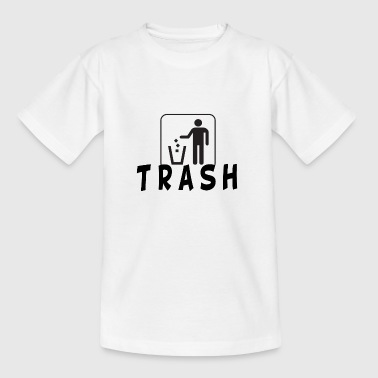 Trashes trash - Kids' T-Shirt
